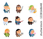 Fantasy Characters. 2d Game...