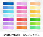 sticky notes illustration of... | Shutterstock . vector #1228175218