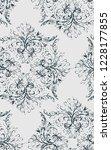 shabby abstract damask seamless ...   Shutterstock .eps vector #1228177855