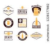 set of vintage logo  badge ... | Shutterstock .eps vector #1228177882