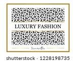 "decorative ""luxury fashion""... | Shutterstock .eps vector #1228198735"