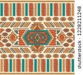 tribal vintage ethnic seamless... | Shutterstock .eps vector #1228211248