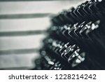 bottles of wine in the wine...   Shutterstock . vector #1228214242
