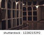 bottles of wine in the wine...   Shutterstock . vector #1228215292