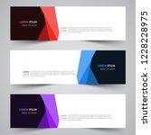 modern vector abstract... | Shutterstock .eps vector #1228228975