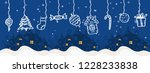 merry christmas and happy new...   Shutterstock .eps vector #1228233838