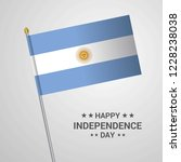 argentina independence day...   Shutterstock .eps vector #1228238038