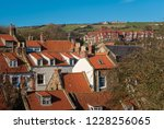 close rooftops of the fishing... | Shutterstock . vector #1228256065