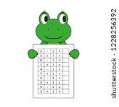 worksheet. mathematical puzzle...   Shutterstock .eps vector #1228256392