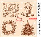 vector illustration of... | Shutterstock .eps vector #1228256788