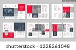 brochure creative design.... | Shutterstock .eps vector #1228261048