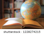 close up of books opened on... | Shutterstock . vector #1228274215