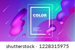 colorful geometric background.... | Shutterstock . vector #1228315975