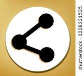 share sign illustration. vector.... | Shutterstock .eps vector #1228321525
