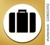 briefcase sign illustration.... | Shutterstock .eps vector #1228321552