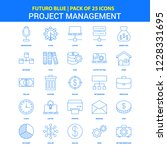 project management icons  ... | Shutterstock .eps vector #1228331695