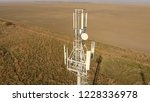 cellular tower. equipment for... | Shutterstock . vector #1228336978