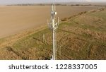 cellular tower. equipment for... | Shutterstock . vector #1228337005