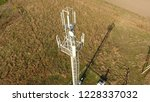 cellular tower. equipment for... | Shutterstock . vector #1228337032