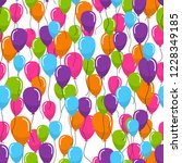 seamless pattern with... | Shutterstock .eps vector #1228349185
