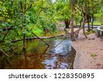 image of water pond at pong nam ... | Shutterstock . vector #1228350895