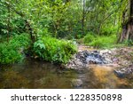 image of water pond at pong nam ... | Shutterstock . vector #1228350898
