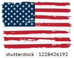 flag of united states.vector... | Shutterstock .eps vector #1228426192