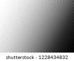 dots background. monochrome... | Shutterstock .eps vector #1228434832