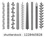 leaf nature pattern vector... | Shutterstock .eps vector #1228465828