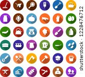 color back flat icon set  ... | Shutterstock .eps vector #1228476712