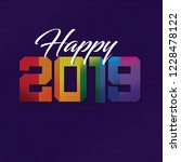 happy gay 2019 | Shutterstock . vector #1228478122