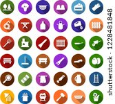 color back flat icon set  ... | Shutterstock .eps vector #1228481848