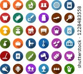 color back flat icon set  ... | Shutterstock .eps vector #1228483558