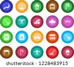 round color solid flat icon set ... | Shutterstock .eps vector #1228483915