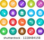 round color solid flat icon set ... | Shutterstock .eps vector #1228484158