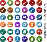 color back flat icon set  ... | Shutterstock .eps vector #1228485778