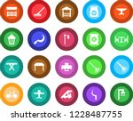 round color solid flat icon set ... | Shutterstock .eps vector #1228487755