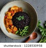 homemade vegetarian meals  ... | Shutterstock . vector #1228530958