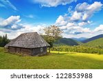 Abandoned Wooden House In The...