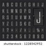 airport terminal mechanical... | Shutterstock .eps vector #1228542952