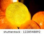 yellow orange magic glowing... | Shutterstock . vector #1228548892