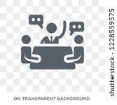 national economic council icon. ... | Shutterstock .eps vector #1228559575