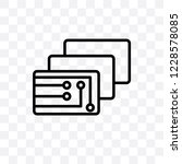 depth perception vector linear... | Shutterstock .eps vector #1228578085