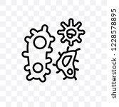 three bacteria vector linear...   Shutterstock .eps vector #1228578895