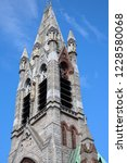 facade of augustinian friary ... | Shutterstock . vector #1228580068