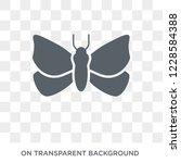 moth icon. trendy flat vector... | Shutterstock .eps vector #1228584388