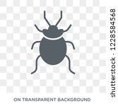 bedbug icon. trendy flat vector ... | Shutterstock .eps vector #1228584568
