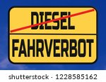 driving traffic signs for... | Shutterstock . vector #1228585162