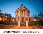 science library in oxford ... | Shutterstock . vector #1228589872