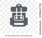 army backpack icon. army... | Shutterstock .eps vector #1228612702